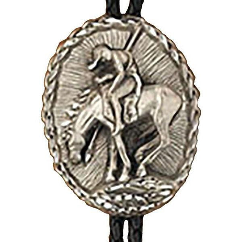 End Of the Trail Bolo Tie, Bolo Ties - Square Up Fashions