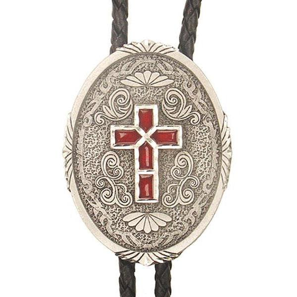 Western Cross Bolo, Bolo Ties - Square Up Fashions