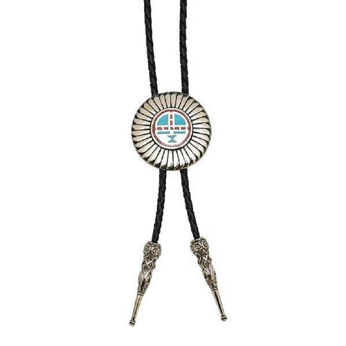 Kachina Sun Face Bolo, Bolo Ties - Square Up Fashions