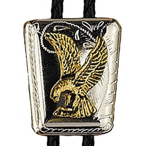 Eagle on Shield Bolo, Bolo Ties - Square Up Fashions