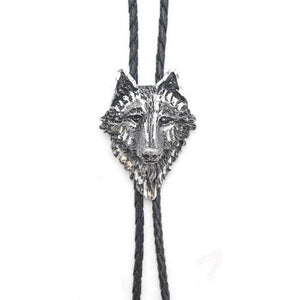 Wolf Head Bolo, Bolo Ties - Square Up Fashions
