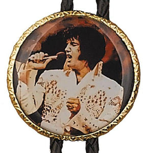 "Elvis ""The King"" Bolo Tie, Bolo Ties - Square Up Fashions"