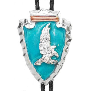 Arrowhead and Eagle Bolo, Bolo Ties - Square Up Fashions