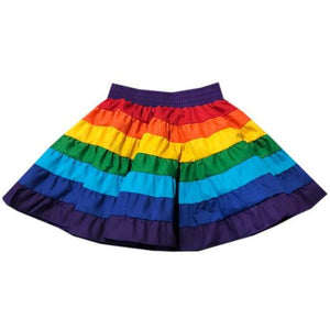 Rainbow Childrens Skirt, Childrens Clothing - Square Up Fashions