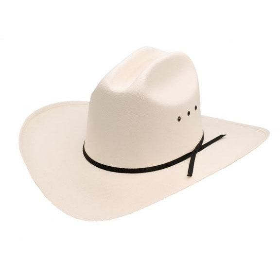 Low Crown Cattleman Straw Hat *ELASTIC, Hats - Square Up Fashions
