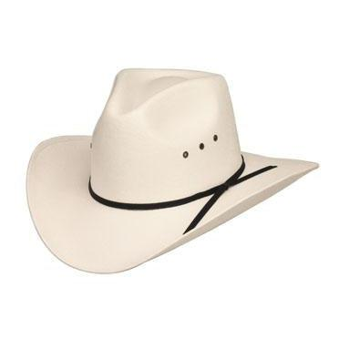 Pinch Front White Straw Hat *Elastic, Hats - Square Up Fashions