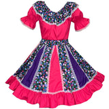 Morning Glory Square Dance Outfit, Set - Square Up Fashions