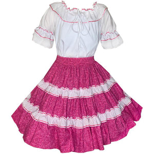 Hearts Galore Square Dance Outfit, Set - Square Up Fashions