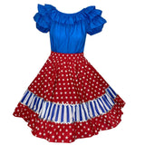 Stars & Stripes Square Dance Outfit, Set - Square Up Fashions