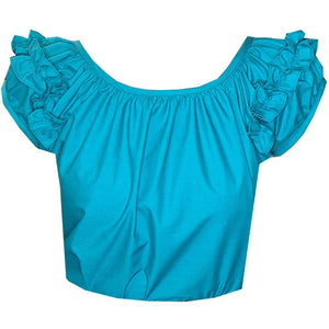 Basic Ruffle Blouse, Blouse - Square Up Fashions