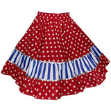 Stars & Stripes Square Dance Skirt