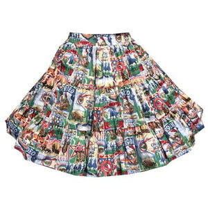 Rodeo Square Dance Skirt, Skirt - Square Up Fashions