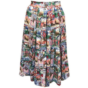 Rodeo Prairie Skirt, Prairie - Square Up Fashions