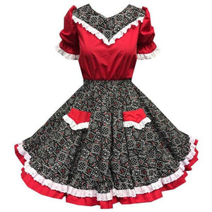 Western Bandana Square Dance Outfit, Set - Square Up Fashions