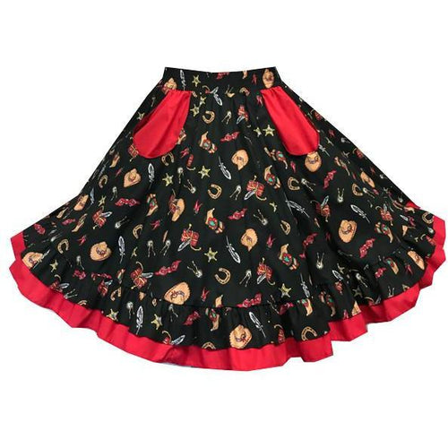 Wild West Square Dance Skirt, Skirt - Square Up Fashions