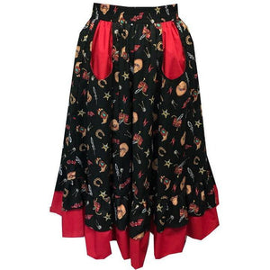 Wild West Prairie Skirt, Prairie - Square Up Fashions