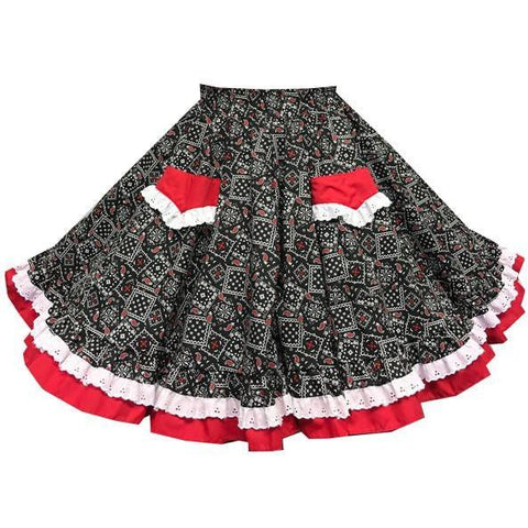 Style 7250 Square Dance Skirt