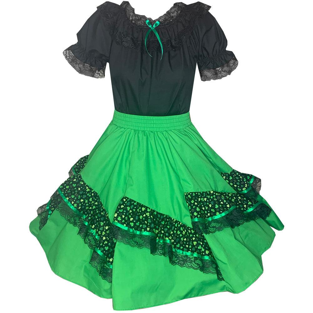 St. Patrick's Day Square Dance Outfit, Set - Square Up Fashions