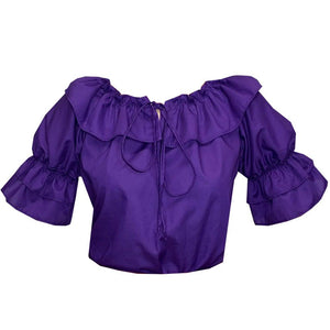 Faux Drawstring Blouse, Blouse - Square Up Fashions
