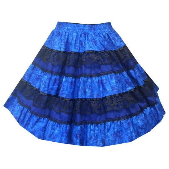 Tone on Tone Square Dance Skirt, Skirt - Square Up Fashions