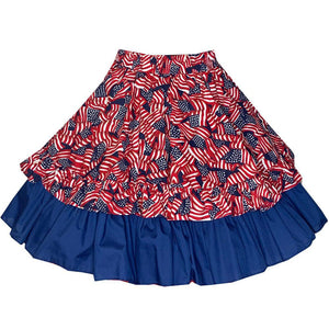 Flag Print Apron, Accessories - Square Up Fashions