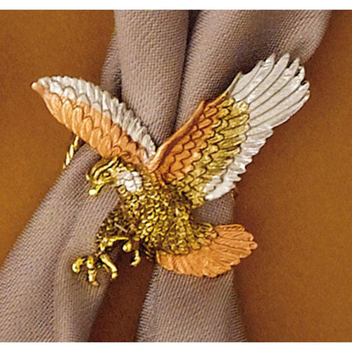 Tricolor Eagle Scarf Slide, Scarf Slides - Square Up Fashions