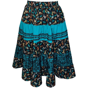 Aztec Prairie Skirt, Prairie - Square Up Fashions
