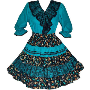 Aztec Square Dance Outfit, Set - Square Up Fashions