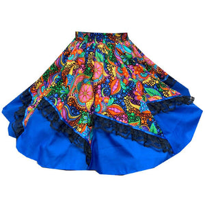 Colorful Carnival Square Dance Skirt, Skirt - Square Up Fashions
