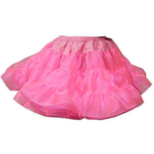 Childrens Poofy Crystal Petticoat, Childrens Clothing - Square Up Fashions