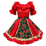 Fancy Christmas Square Dance Outfit