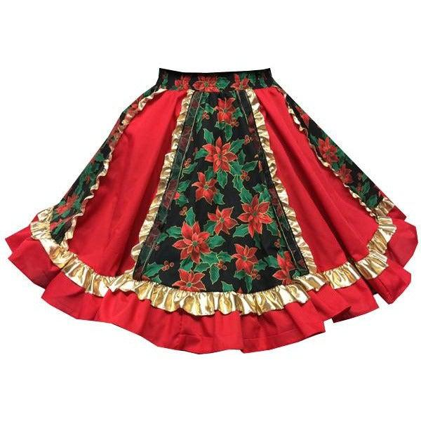 Fancy Christmas Square Dance Skirt, Skirt - Square Up Fashions