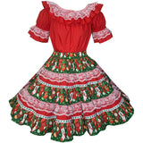 Christmas Stockings Square Dance Outfit, Set - Square Up Fashions