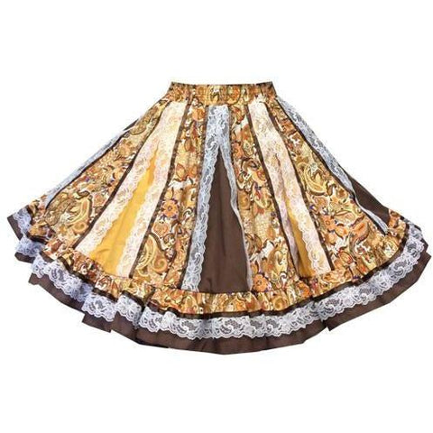 Style 1960 Square Dance Skirt - Square Up Fashions