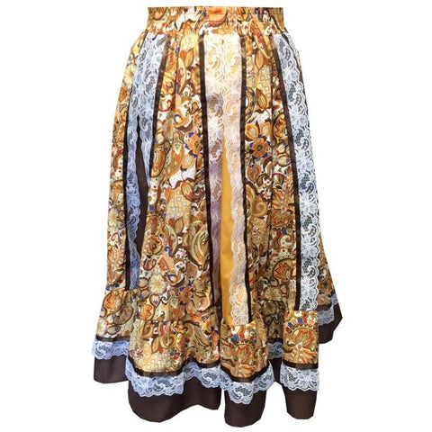 Style 1960 Square Dance Prairie Skirt