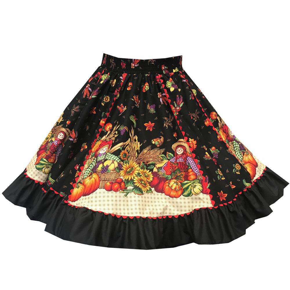 Fall Harvest Square Dance Skirt, Skirt - Square Up Fashions