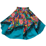 Colorful Carnival Square Dance Skirt