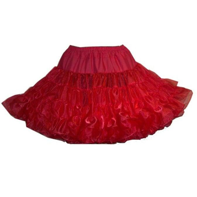 Poofy Crystal Square Dance Petticoat (Short  18