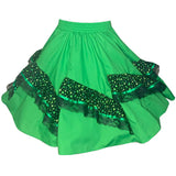 St. Patrick's Day Square Dance Skirt, Skirt - Square Up Fashions
