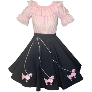 Poodle Skirt Outfit, Set - Square Up Fashions
