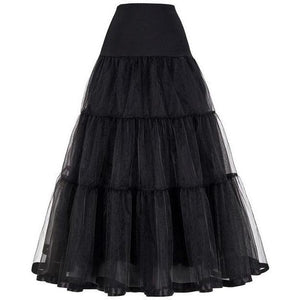 Adult Organdy Petticoat Long, Petticoat - Square Up Fashions