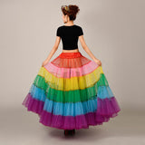 Rainbow Petticoat, Petticoat - Square Up Fashions