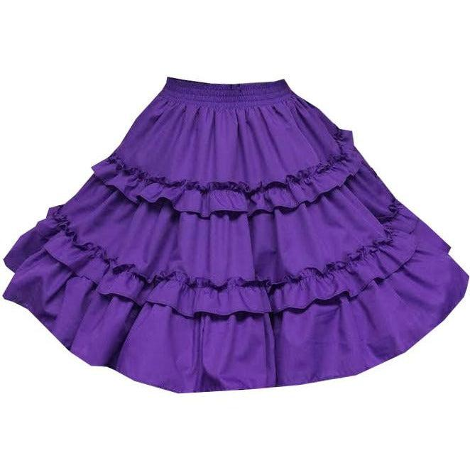 Ruffle Square Dance Skirt, Skirt - Square Up Fashions