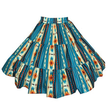Southwest Santa Fe Square Dance Skirt, Skirt - Square Up Fashions