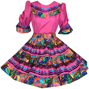 Vivid Fantasia Square Dance Outfit, Set - Square Up Fashions