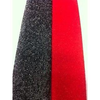 Glitter Poly Knit Tie, Accessories - Square Up Fashions