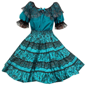 Tone on Tone Square Dance Outfit, Set - Square Up Fashions