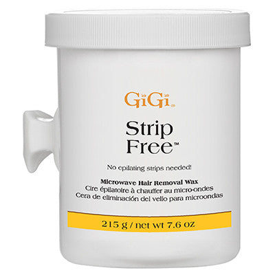 Gigi Strip Free Wax Microwave Formula 8 oz