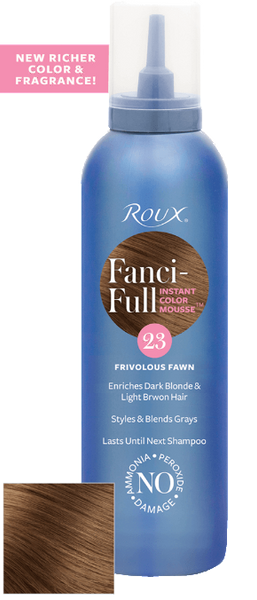 Roux Fanci-full Frivolous Fawn 23 Mousse 6 oz
