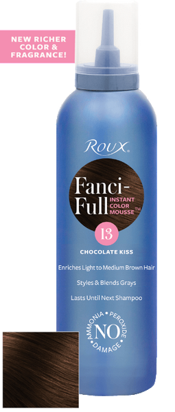 Roux Fanci-full Chocolate Kiss 13 Mousse 6 oz